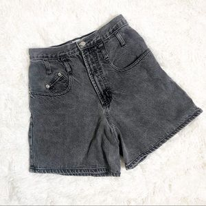 Anchor Blue Vintage Gray High Waisted Jeans 5